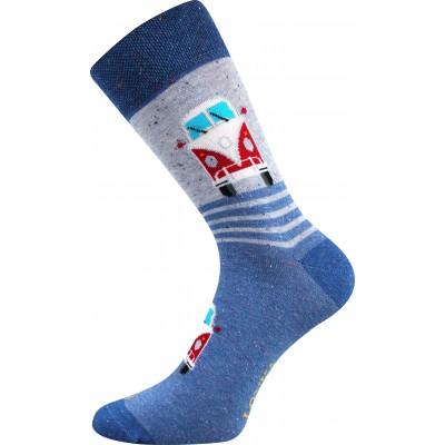 Ponožky Lonka Harry mix C Bus 1