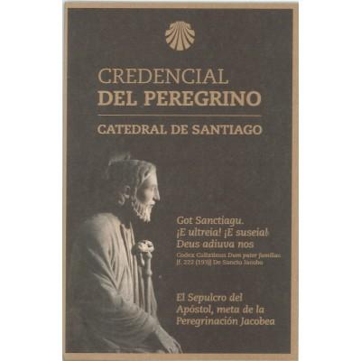 Oficiální  Credencial - Průkaz poutníka do Santiaga de...