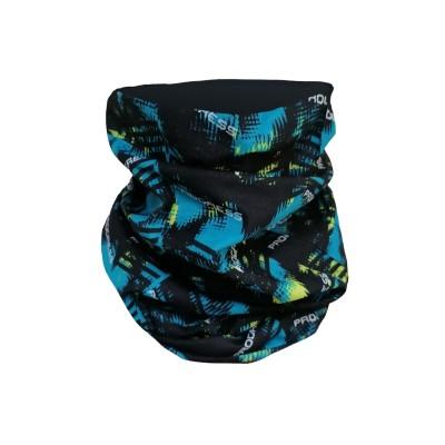 Progress TUBE funkční šátek tubus černá-limetka camo