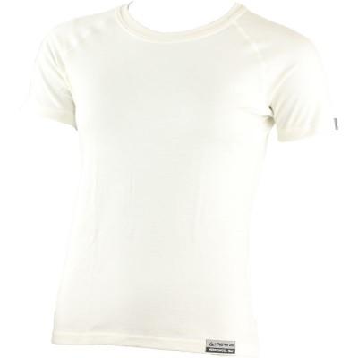 Lasting Dámské 100%merino tričko ALEA bílé 0101