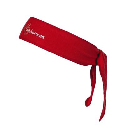 Progress B CEL zavazovací čelenka s bambusem červená