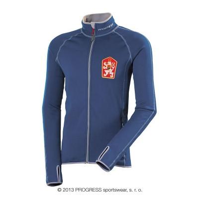Progress TIMUR pánská sportovní ČSSR retro mikina modrá
