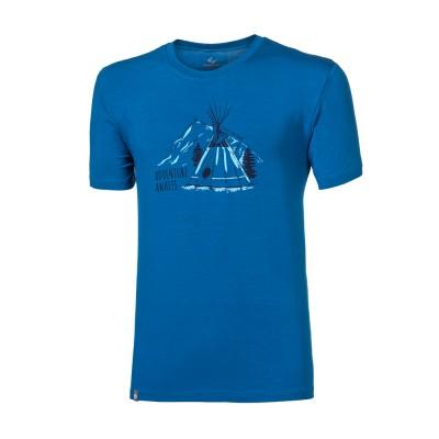 "PIONEER ""TEEPEE"" pánské triko s bambusem modrá"