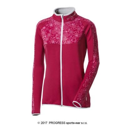 Progress GERDA dámská sportovní mikina růžová