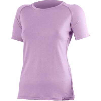 Lasting Dámské 100%merino tričko ALEA fialové 4141