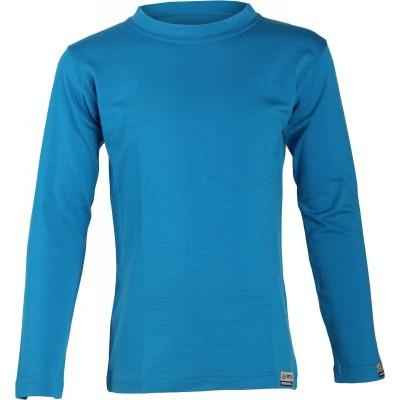 Lasting dětské 100% merino triko LONY  5151 modrá