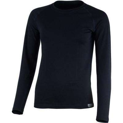 Lasting Dámské 100%merino tričko ATILA 5252 tm.modrá