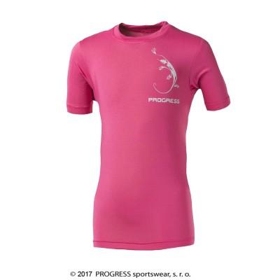 Progress NAVAHO JUNIOR dětské triko růžová