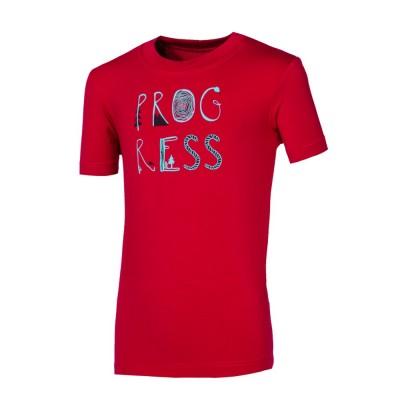 """Progress FRODO """"PROGRESS"""" dětské triko s bambusem vínová"""