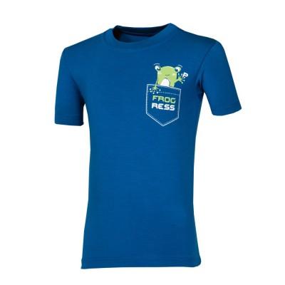 """Progress FRODO """"FROG"""" dětské triko s bambusem modré"""