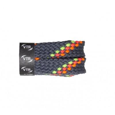 VTR Trekkingové tkaničky ploché šedé