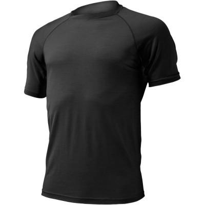 Lasting Pánské 100% merino triko QUIDO černá 9090