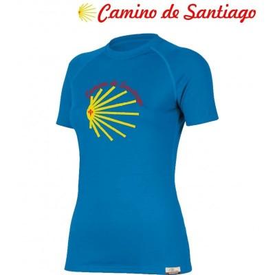 Camino de Santiago Dámské 100% Merino triko 2019