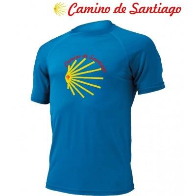 Camino de Santiago Pánské 100% Merino triko 2019