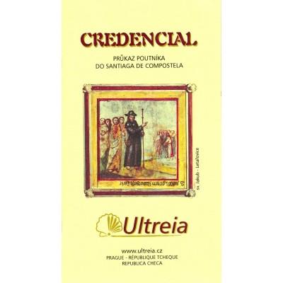 Český Credencial - Průkaz poutníka do Santiaga de Compostela