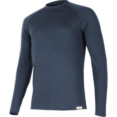 Lasting Pánské 100% merino tričko dlouhý rukáv  ATAR 5656...