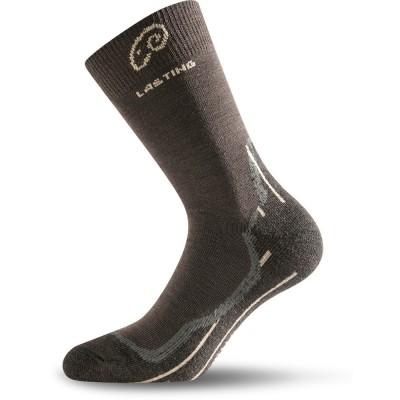 Merino ponožky WHI 721 hnědá