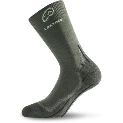Merino ponožky WHI 620 zelená