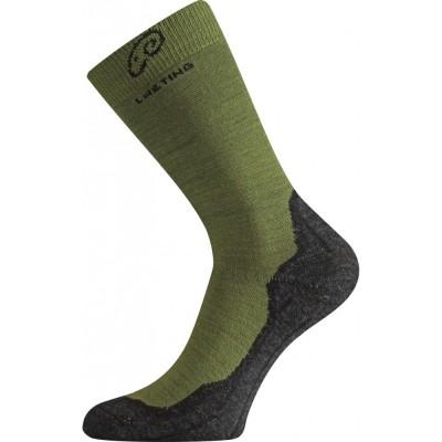 Merino ponožky WHI 699 zelená