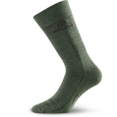 Merino ponožky WLS 620 zelená