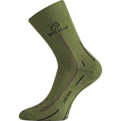 Merino ponožky WLS 699 zelená