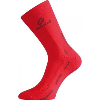 Merino ponožky WLS 388 červená
