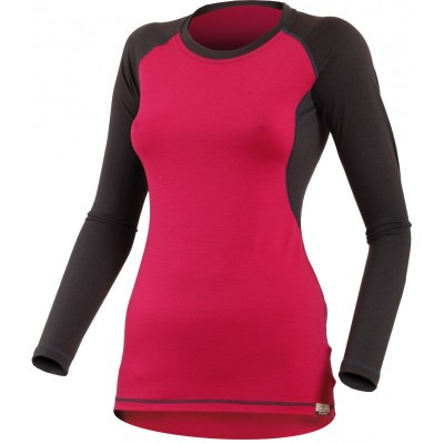 Lasting Dámské 100%merino tričko DITA 4788 růžová