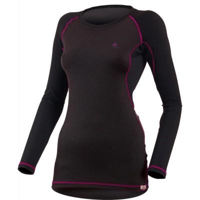 Lasting Dámské 100%merino tričko DITA 9045 černá