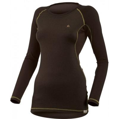 Lasting Dámské 100%merino tričko DITA 9072 černá