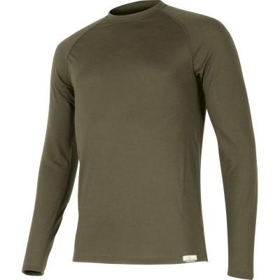 Lasting Pánské 100% merino tričko dlouhý rukáv  ATAR 6363...