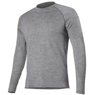 Lasting Pánské 100% merino tričko dlouhý rukáv  ATAR 8484...