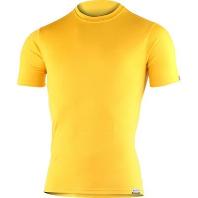 Lasting pánské 100% merino triko CHUAN 2121 žlutá