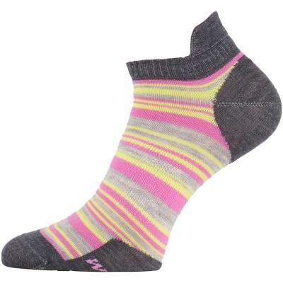 Lasting dámské merino ponožky WWS 504 růžové