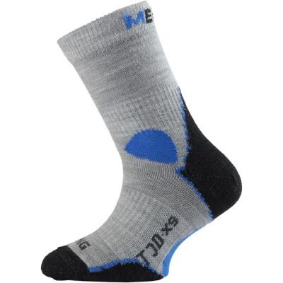 Lasting dětské merino ponožky TJD 800 šedé