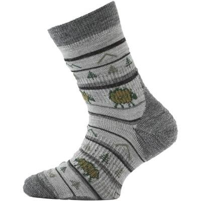 Lasting dětské merino ponožky TJL 808 šedé