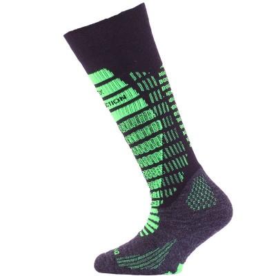 Lasting dětské merino lyžařské ponožky SJR 906 černé