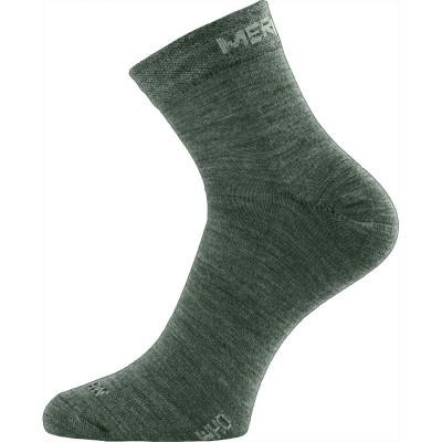 Lasting merino ponožky WHO 620 zelená