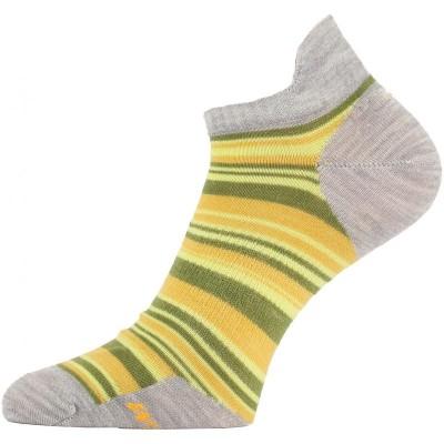 Lasting dámské merino ponožky WWS 806 žluté