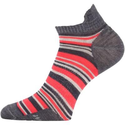 Lasting merino ponožky WPS 503 červená