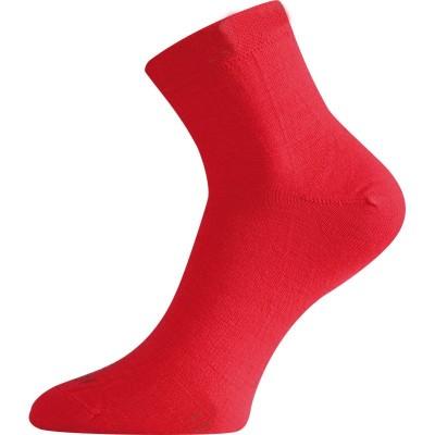 Lasting merino ponožky WAS 388 červená