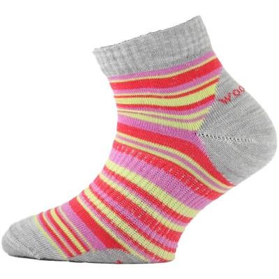 Lasting dětské merino ponožky TJP 308 červené