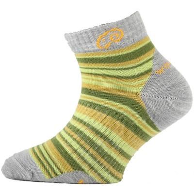 Lasting dětské merino ponožky TJP 608 žluté