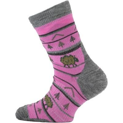 Lasting dětské merino ponožky TJL 408 růžové