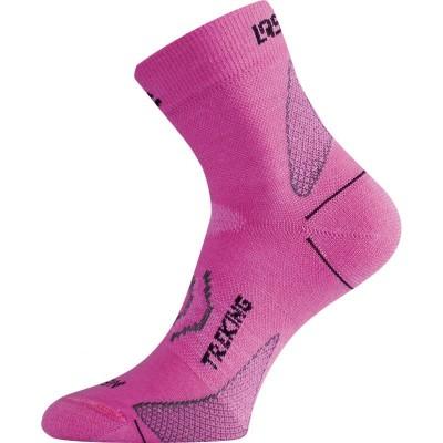 Lasting merino ponožky TNW 498 růžová