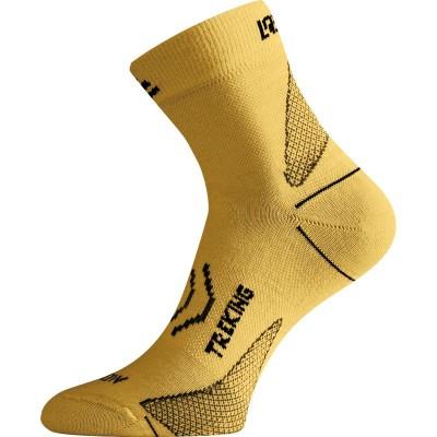 Lasting merino ponožky TNW 640 hořčicová